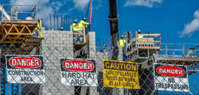 Safety Signs at your Building Site: It's the law